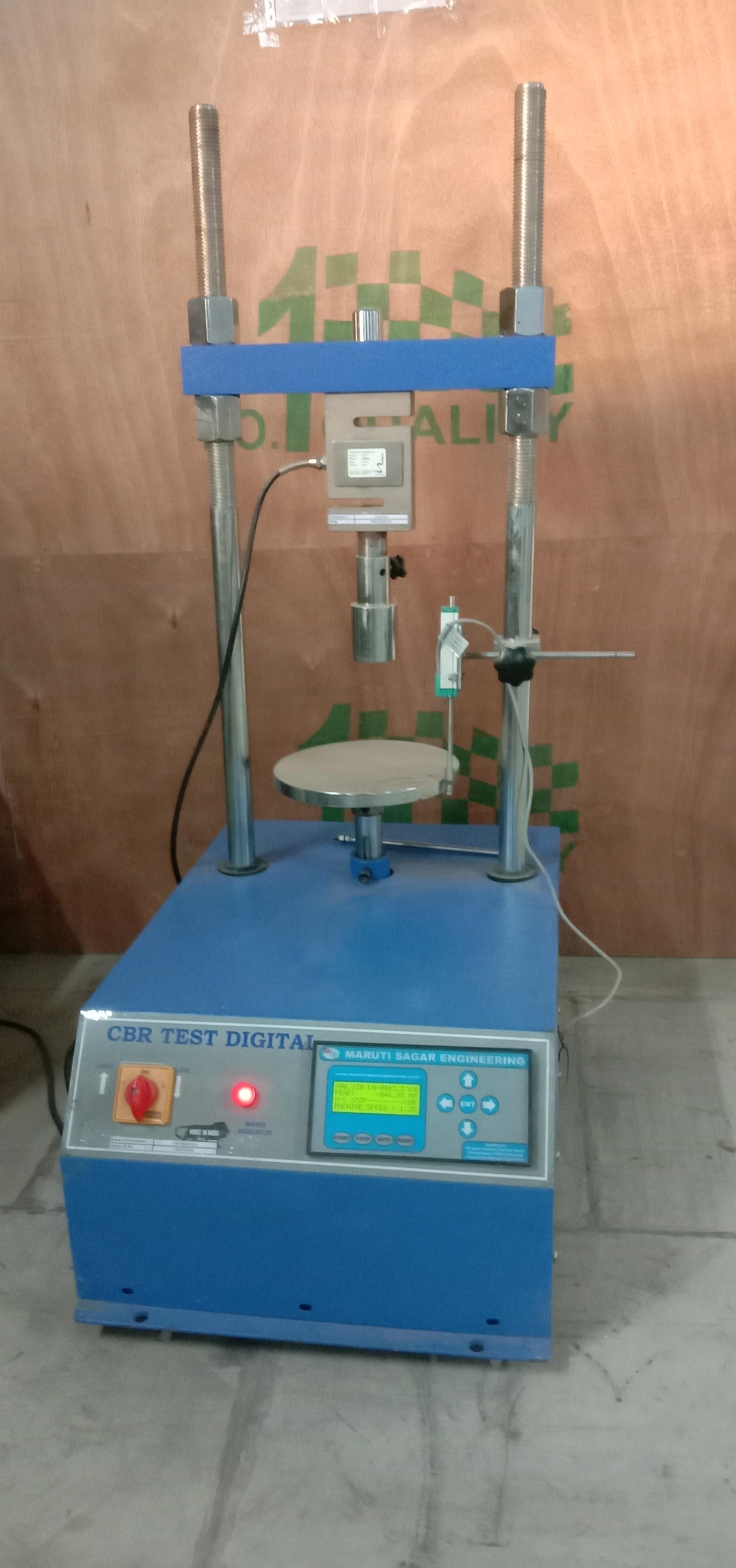 Digital C.B.R. Apparatus