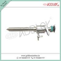 ADDLER Laparoscopic Trocar Cannula Spiral blunt Oblique Multifunctional Flap Type 5mm 10mm