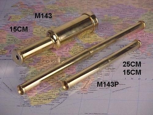Hand Telescope Made In Brass
