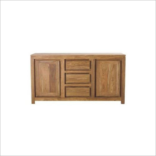 Wooden Cliff Sheesham 2 Door 3 Drawer Sideboard