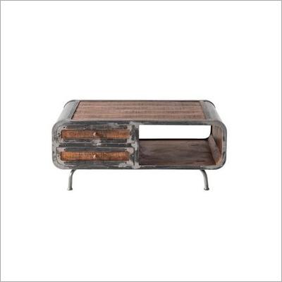 Wooden Dottie Rustic Coffee Table