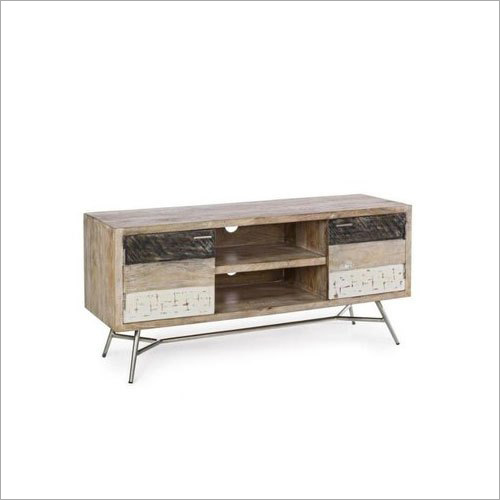 Wooden Glossy TV Unit