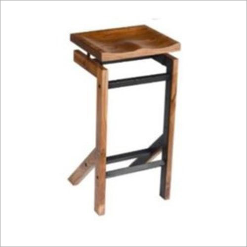 Wooden Brown Bar Stool
