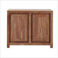 Wooden Cliff Sheesham 2 Door Cabinet