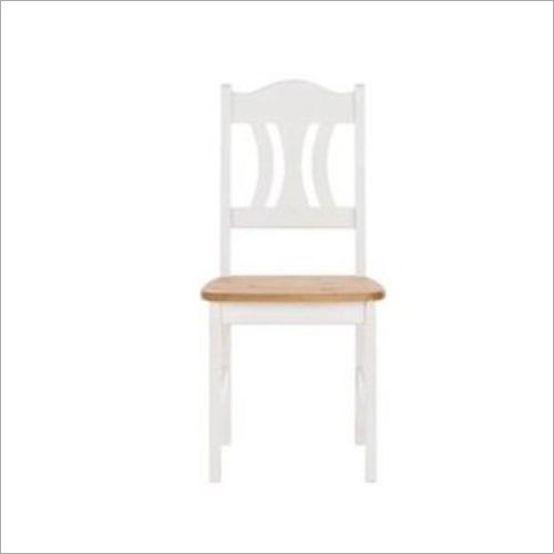 Wooden White Mania Chair