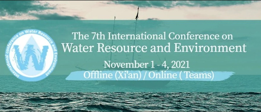 The 7th International Conference on Water Resource and Environment (WRE 2021)