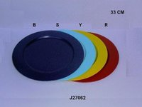 Metal Charger Plate Available In All Colors