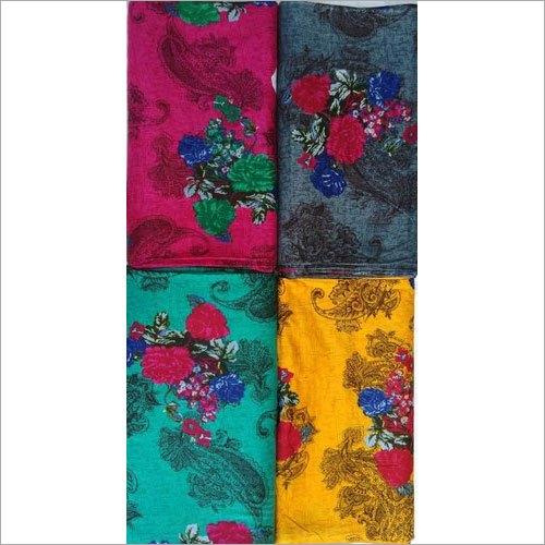 Floral Print Rayon Fabric