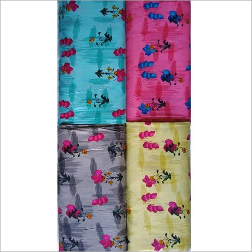 Ladies Unstitched Floral Print Cotton Suit