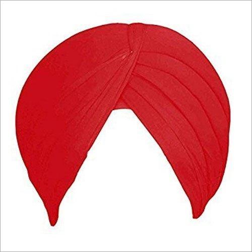 Red Plain Punjabi Turban Cloth