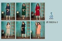 ZUBEDA VOL 2 Designer Rayon Slub 14 kg With Embroidery Work
