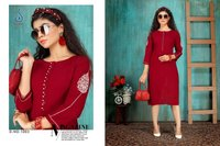 ZUBEDA VOL 2 Designer Rayon Slub 14 kg With Embroidery Work