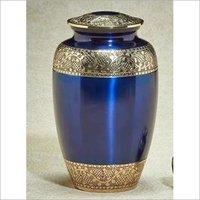 Victoriana Series Blue Cremation Urn