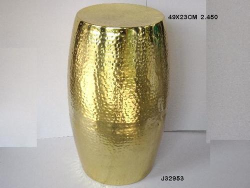 Stool Brass Finish