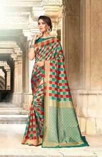 Unnati Party Wear Designer Silk Sarees