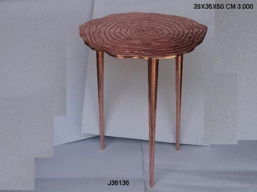 Side Table Rose Gold