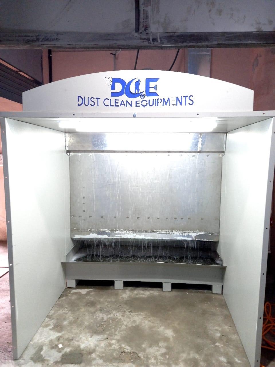 Wet Liquid Spray Paint Booth
