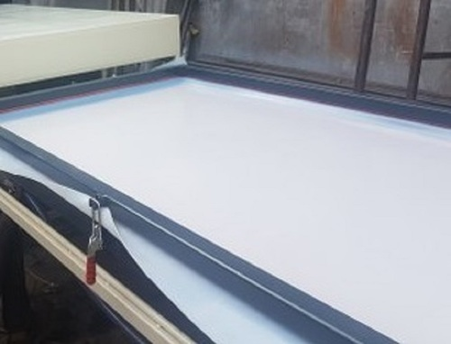 Manufacturer of Silicone Membrane Sheet for vacuum press machine for Making Membrane Door