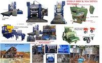 Automatic hydraulic  Fly Ash Brick Making Machine 12 Bricks