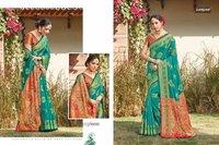 Majari Silk Designer Bridal Collection Silk With Siroski Work Sarees
