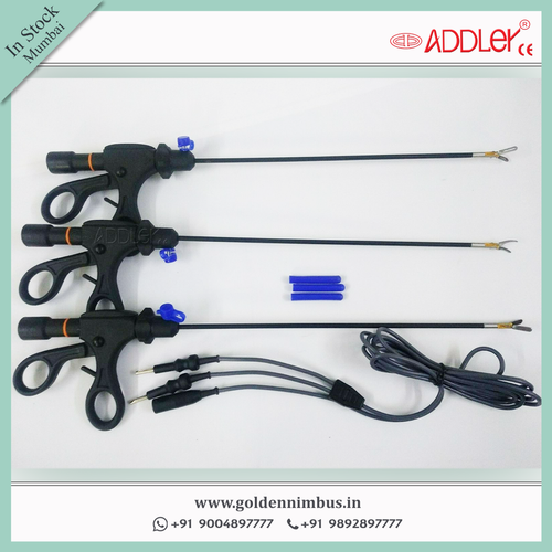 ADDLER Laparoscopic Bipolar Forcep With Cable Reusable Hospital