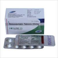 20 mg Rosuvastatin Tablets