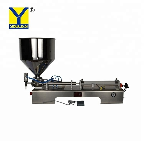 G1WGD Semi Automatic Liquid And Paste Filling Machine 50-500 ml Single Head(Horizontal)