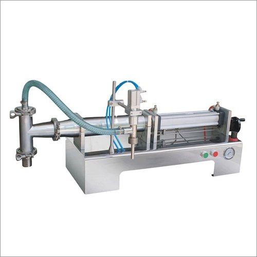 SS Pneumatic Single Head Paste Filler