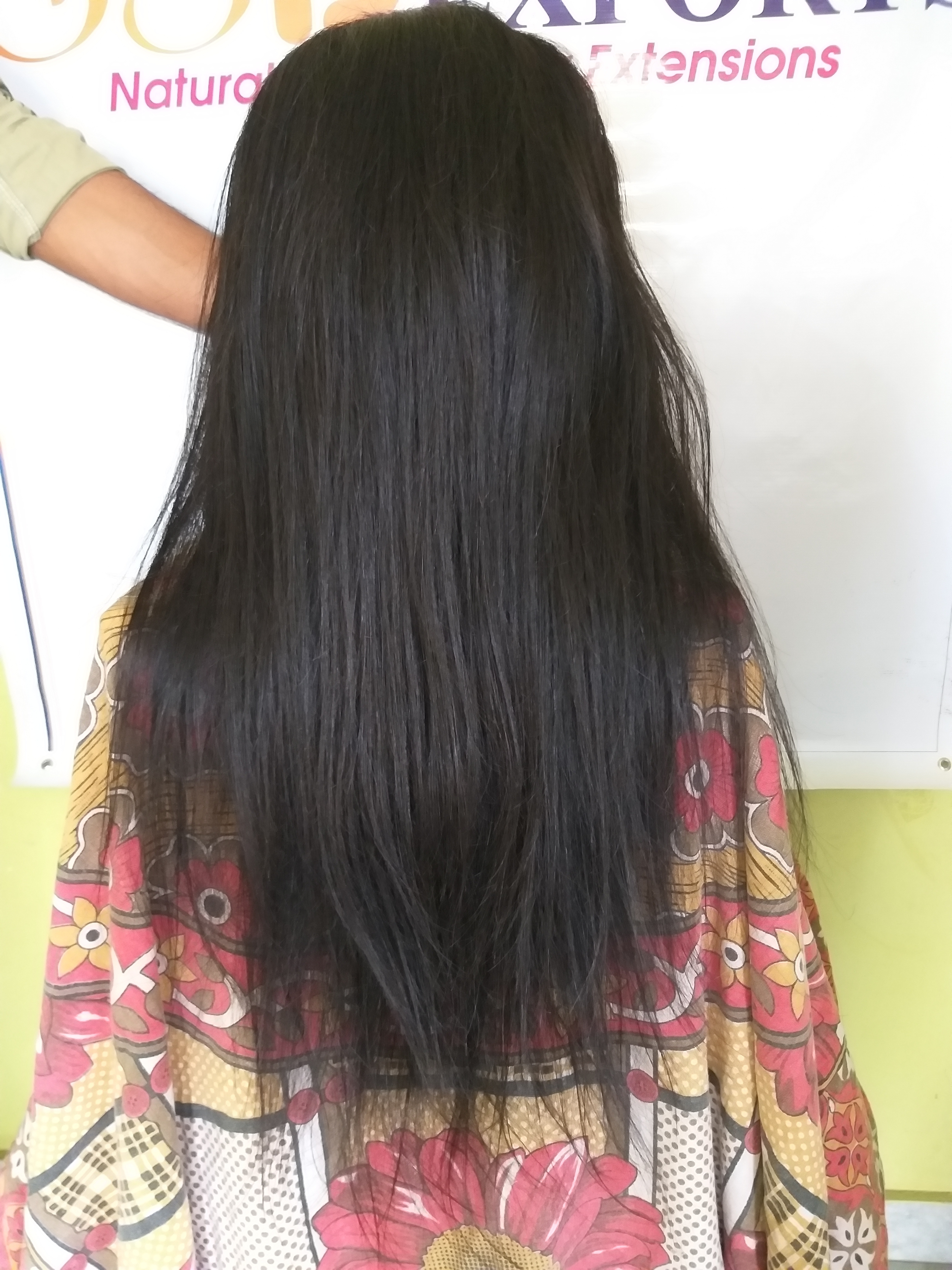 Natural Color Straight Hair Full Lace Wigs
