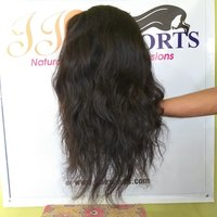 Natural Raw Virgin Human Hair Wigs