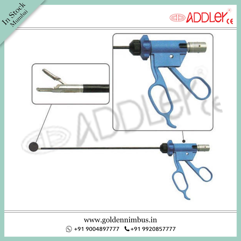 ADDLER Laparoscopic Bessanger Bipolar Forcep  Dissecting Forceps Instrument