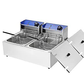 Table Top Deep Fat Fryer Double Tank