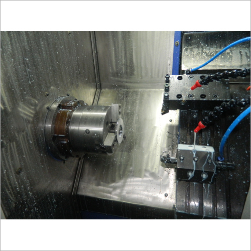 CNC Lathe With Liner Tooling