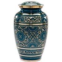 Brass Engraved Urn