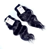 Raw Virgin Single Donor Indian Unprocessed Wavy Hair Extension