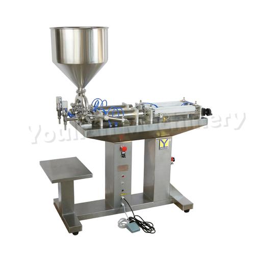 G2LGD Semi-automatic Liquid & Paste Filling Machine 50-500 ml Single Head (Standing)