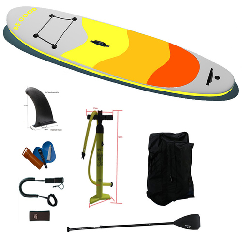 380x78x15cm  Inflatable Stand Up Paddle Board Isup Water Craft For The Sport Of Surfing Red Blue Green