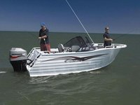650 Aluminum Boat, Speed Boat, Fishing Boat, River Boat For Inland B Searean With Canopy