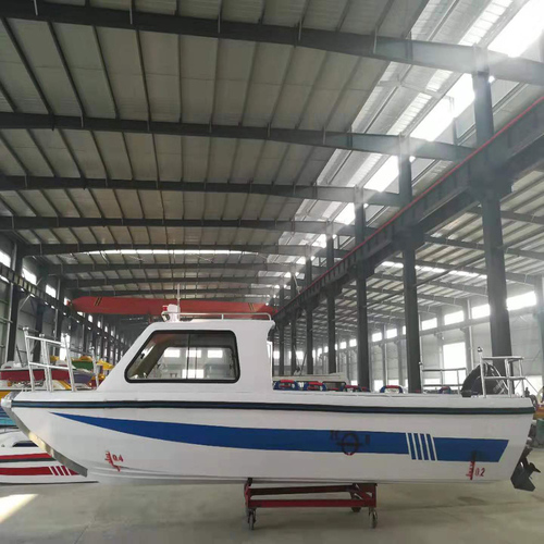 650 Fiberglass Boat, Fishing Boat, Speed Boat, Jetboat With Half Cabin With Canopy