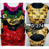 Party Wear Sequined Blouse