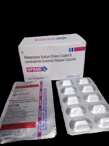 Rabeprazole Sodium Enteric Coated & Levosulpiride Sustained Release Capsules
