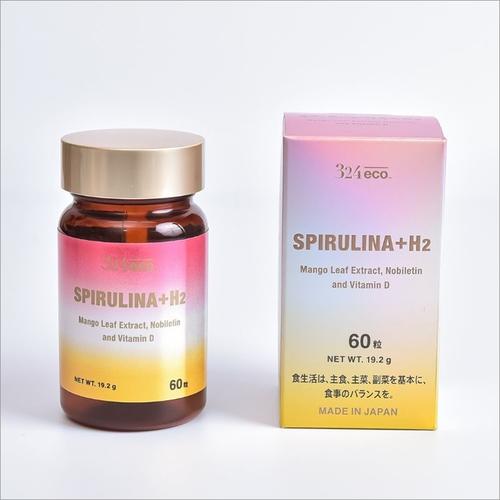 Eco Spirulina Plus H2 Spirulina, Vitamin, Amino Acid, And Herbal Supplement Capsules