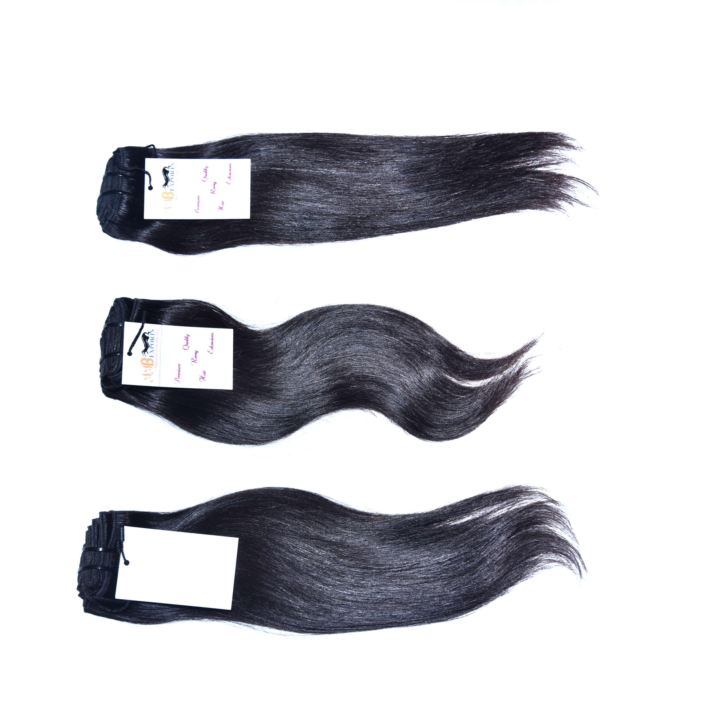 Natural Raw Virgin Unprocessed Mink Brazilian Straight Hair Extension
