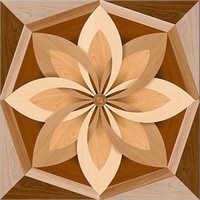 Matt 60x60 Flower Floor Tiles