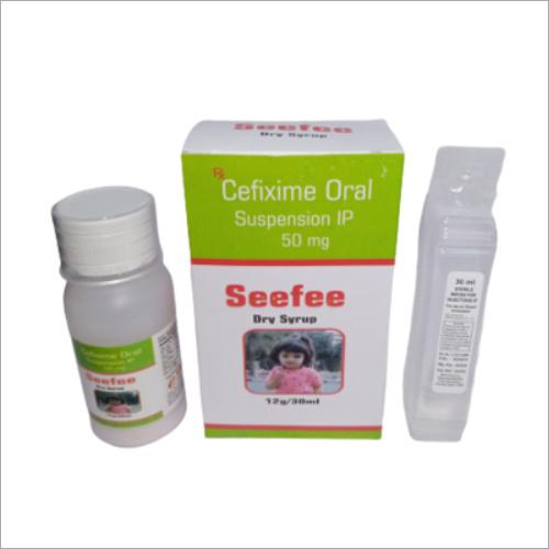 Cefixime Oral Suspension IP 50mg