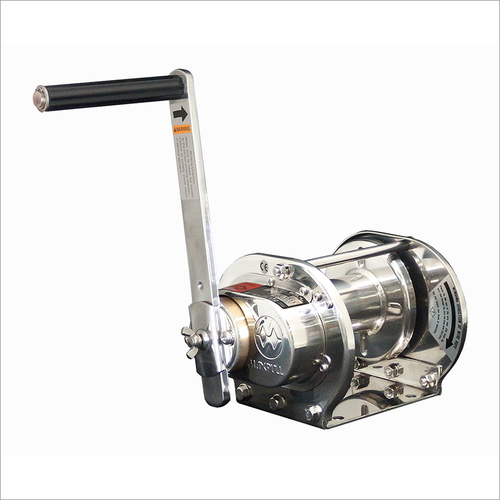 Stainless Steel Rotating Hand Winches Buffing Model SB Type-SI