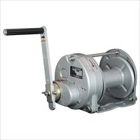 Stainless Steel Rotating Hand Winches Metallic Painting Model ST Type-SI