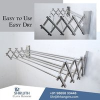Push and Pull Wall Mounted Hanger Manufacturing in Coimbatore