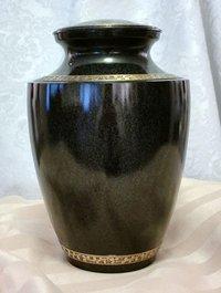 Black Tasty Urn
