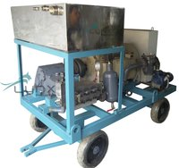 Industrial Boiler-Condenser-Evaporator-Heat Exchanger Tube Cleaning Machine